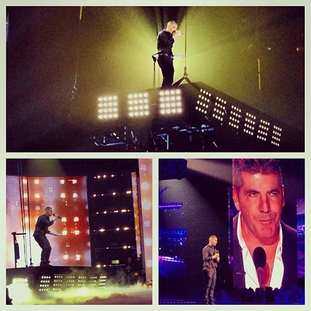 The X Factor USA - Carlito Olivero, Impossible