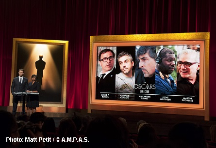 Oscar nominations - Best Director