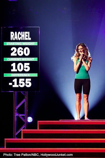 The Biggest Loser 15 finale, Rachel Frederickson