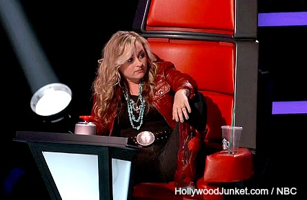 The Voice Cary Laine Adam Levine chair