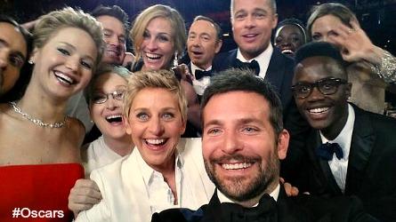 Ellen's Oscar twitter