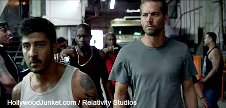 Brick Mansions, Paul Walker, David Belle