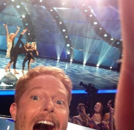 SYTYCD season 11, Jesse Tyler Ferguson selfie