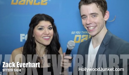 SYTYCD season 11, Top 4 Zack interview