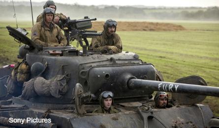 Fury Sherman tank