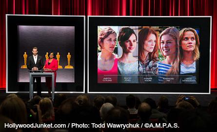 2015 Oscars Announcement, Best Actress