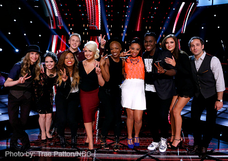 The Voice Top 10
