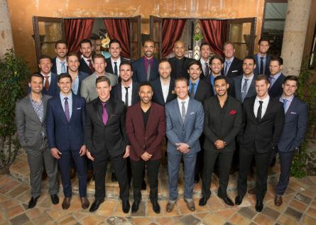 The men of The Bachelorette season 11