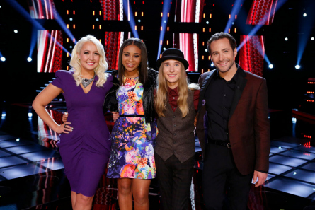 The Voice Top 4 season 8