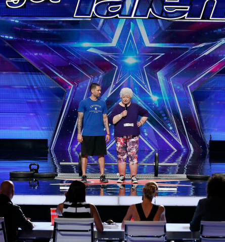 AGT, Power Lifting Granny
