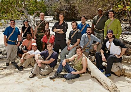 NBC The Island men