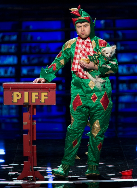 America's Got Talent Judge Cuts week 1, Piff the Magic Dragon