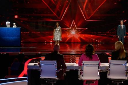 agt semi finals week 1, Ira, Arielle Baril, Oz Pearlman