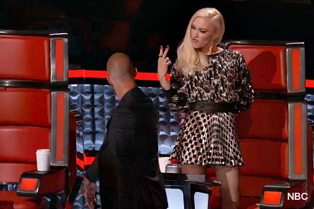 The Voice, Adam, Gwen