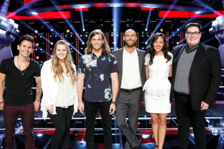 The Voice season 9 Team Adam