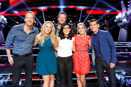The Voice season 9 Team Blake
