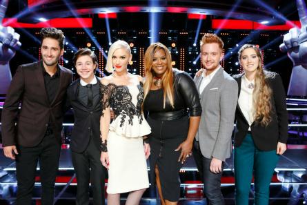 The Voice season 9 Team Gwen