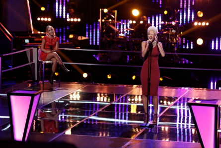 The Voice Knockouts Emily Ann, Nadjah Nicole