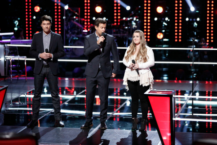 The Voice Knockouts James Dupre, Shelby Brown