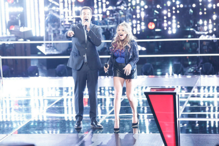 The Voice Knockouts Riley Biederer steal