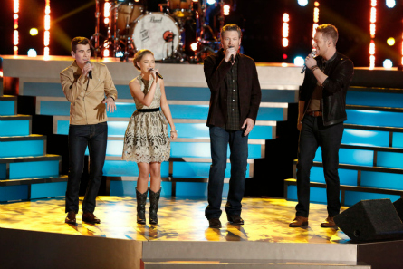 The Voice season 9 Top 12 Team Blake