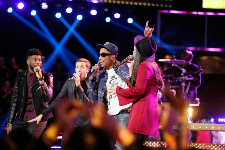 The Voice season 9 Top 12 Team Pharrell