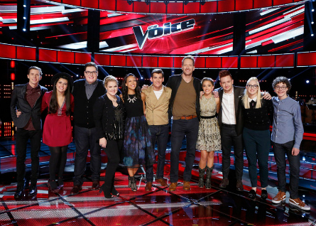 The Voice season 9 Top 11