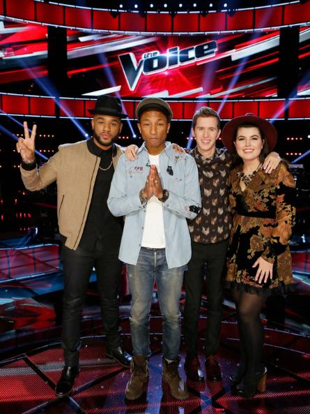 The Voice Season 9 Team Pharrell