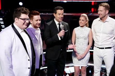 The Voice season 9 finale Top 4