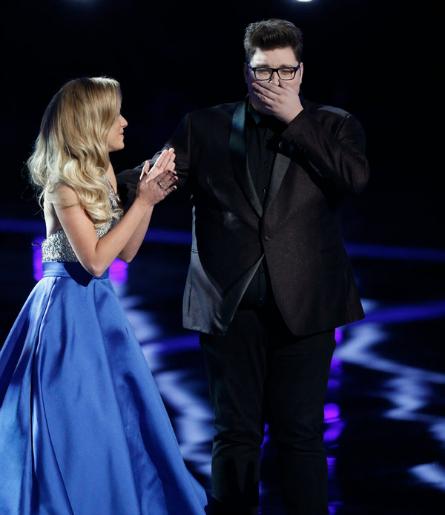 The Voice season 9 finale Emily Ann Roberts, Jordan Smith