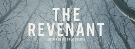 The Revenant movie banner