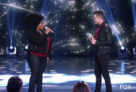 American Idol season 15, La'Porsha, Trent Harmon