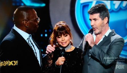 American Idol 15 finale, Paula, Randy, Simon