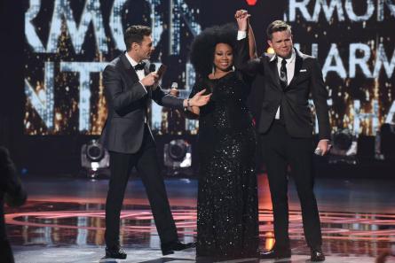 American Idol season 15 finale La'Porsha, Trent Harmon