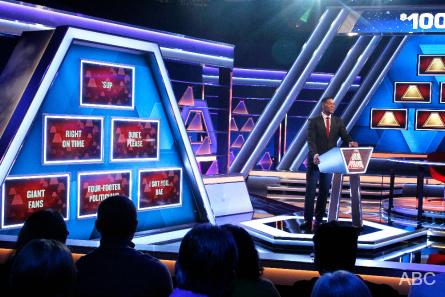 ABC $100 000 Pyramid Michael Strahan