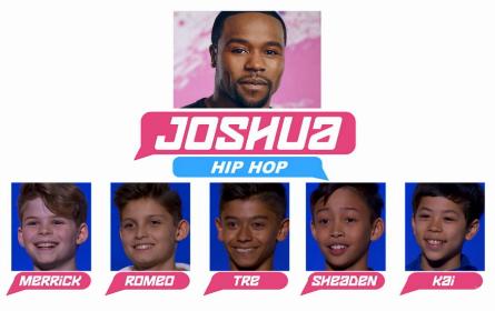 SYTYCD 2016, All-Stars Team Joshua