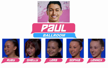 SYTYCD 2016, All-Stars Team Paul