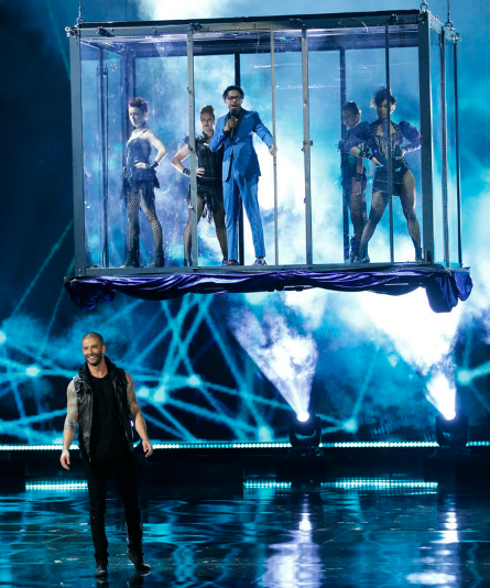 AGT 2016, Live Results 4, The Illusionists, Nick Cannon