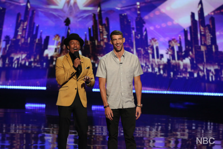 AGT 2016 Results 3, Nick Cannon, Michael Phelps