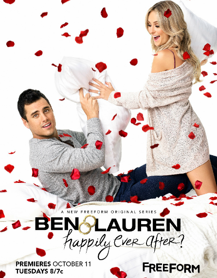 Ben and Lauren Happily Ever After, Freeform, poster