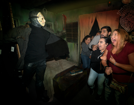 HHN 2016 Freddy vs Jason