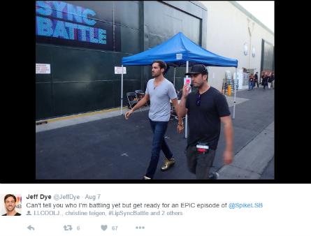 Lip Sync Battle, Jeff Dye tweet