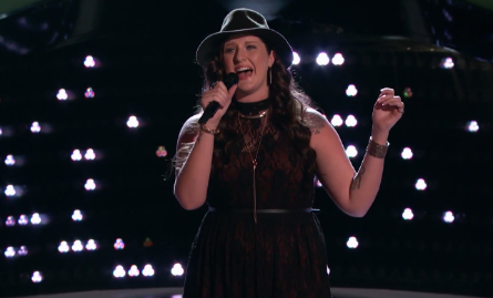 The Voice season 11, blind auditions, Karlee Metzger