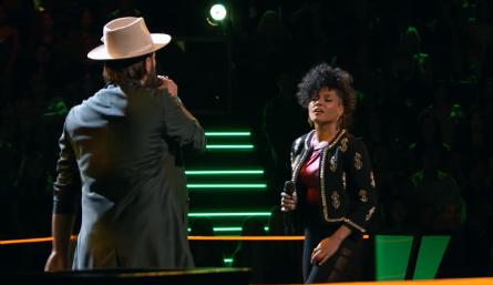 The Voice 11 Battles, Lane Mack vs. Sophia Urista