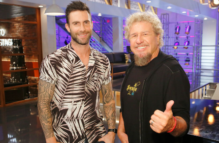 The Voice season 11, Adam Levine, Sammy Hagar