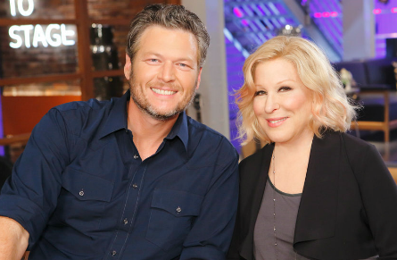 The Voice season 11, Blake Shelton, Bette Midler