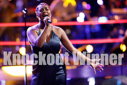 The Voice 11, Knockouts, Ali Caldwell