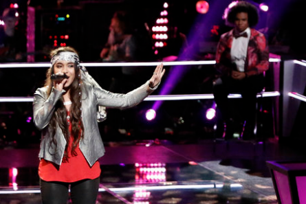The Voice 11 Knockouts, Courtnie Ramirez, We' McDonald