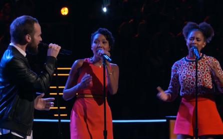 The Voice 11 Battles, Gabriel Violett vs. Whitney & Shannon