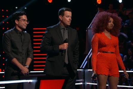 The Voice 11 Knockouts, Michael Sanchez vs. Sa'Rayah